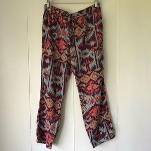 Lilka cropped ikat pants